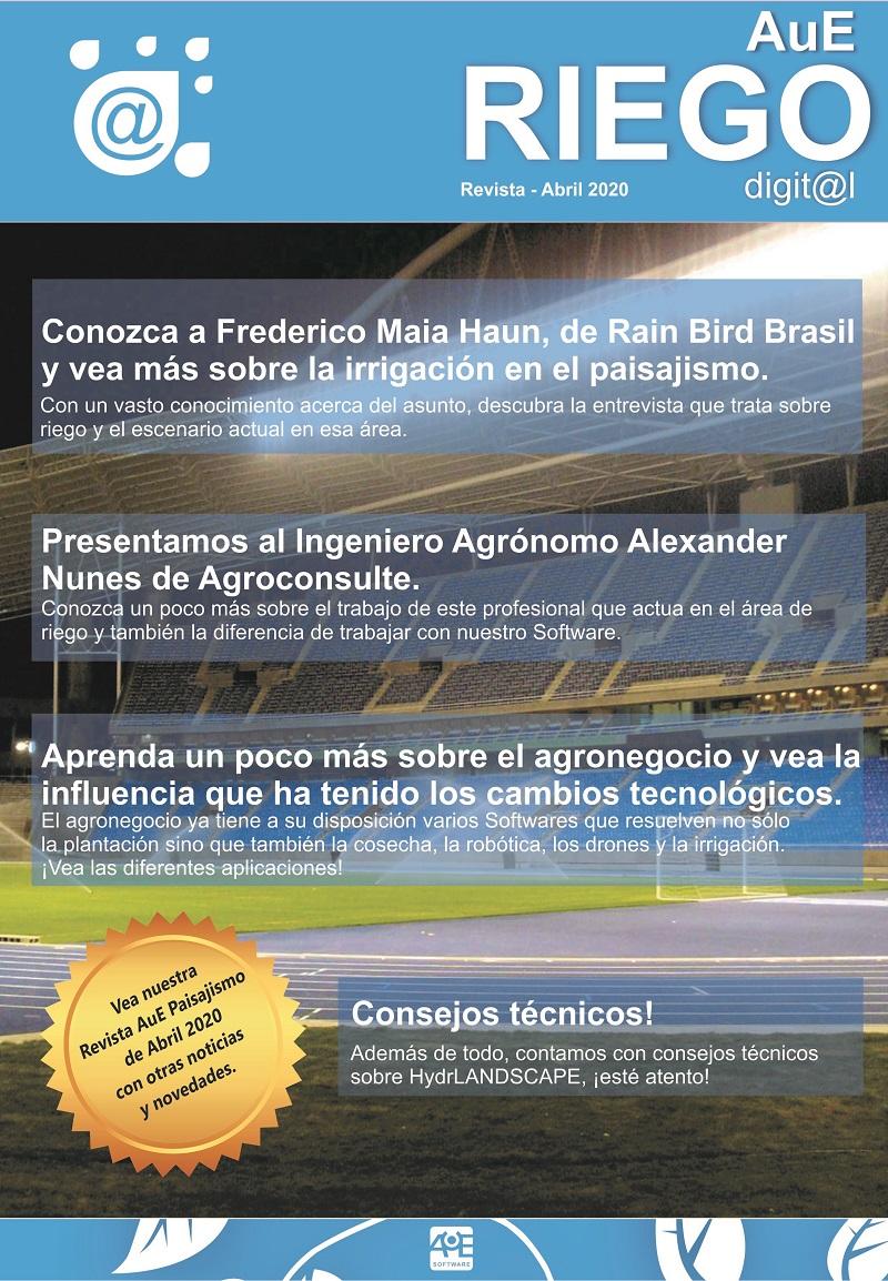 Revista AuE Riego